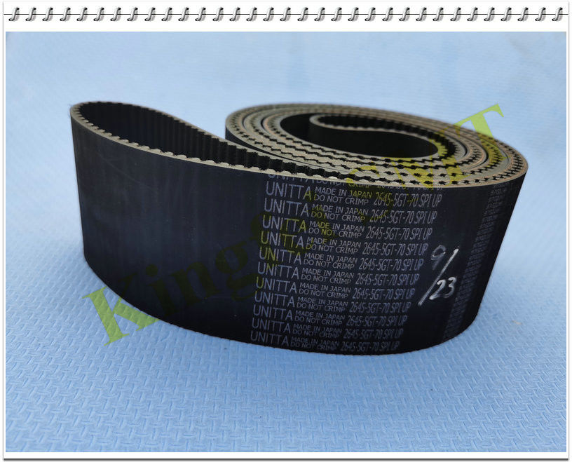 40000733 JUKI 2060RL YB Timing Belt 2645-5GT-70 Original  Black Color